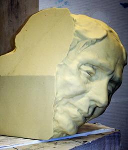Helen Keller Foam Head